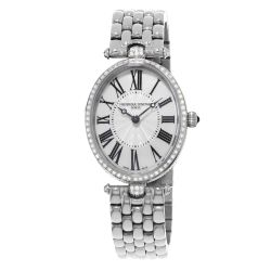 Ladies' Frederique Constant Classics Art Deco Stainless Steel Watch FC-200MPW2VD6B