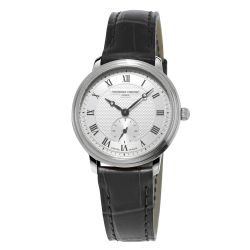 Ladies' Frederique Constant Slimline Mid Size Stainless Steel Watch FC-235M1S6