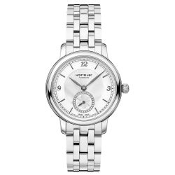 Ladies' Montblanc Star Legacy Small Second Stainless Steel Watch 118535