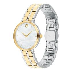 Ladies' Movado Kora Two-Tone Stainless Steel Watch 607323