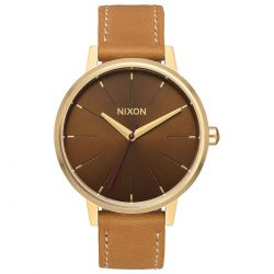 Ladies' Nixon Kensington Brown Leather Watch A108-2804-00