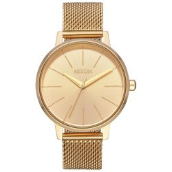 Ladies' Nixon Kensington Milanese Gold-Tone Watch A1229502
