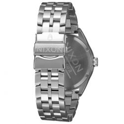 Ladies' Nixon Minx Taupe Dial Two-Tone Stainless Steel Watch A9342215