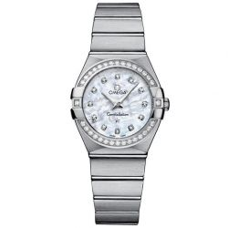 Ladies' OMEGA Constellation Diamond Watch O12315276055001