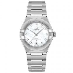 Ladies' OMEGA Constellation Manhattan Automatic Watch O13110292055001
