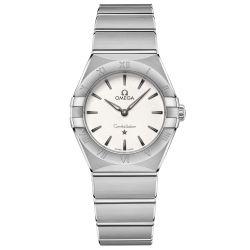 Ladies' OMEGA Constellation Manhattan Quartz Watch O13110286002001