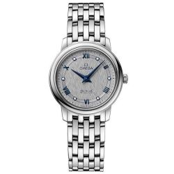 Ladies' OMEGA De Ville Prestige Quartz Diamond Watch O42410276056002