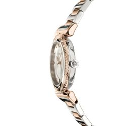 Ladies' Versace V- Motif Vintage Logo Two-Tone Rose Gold-Tone Stainless Steel Watch VERE00718