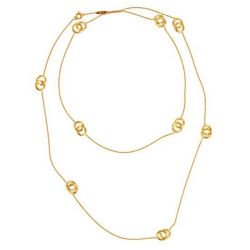 Marco Bicego Jaipur Yellow Gold Long Link Necklace