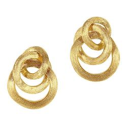 Marco Bicego Jaipur Yellow Gold Small Knot Earrings