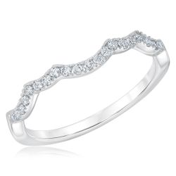 Ellaura Couture Matching Diamond Wedding Band 1/5ctw