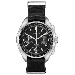Men's Bulova Archive Series Lunar Pilot Chronograph Watch 96A225