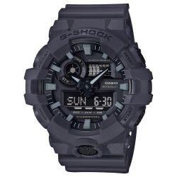 Men's Casio G-Shock Analog-Digital Black Resin Strap Watch GA700UC-8A