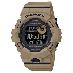 Men's Casio G-Shock Digital Power Trainer Connected Brown Resin Watch GBD800UC-5