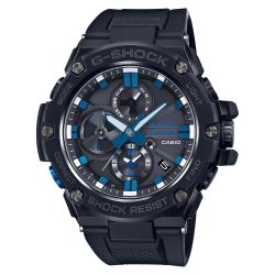 Men's Casio G-Shock G-Steel Limited Edition Blue Note Records Bluetooth Watch GSTB100BNR-1A
