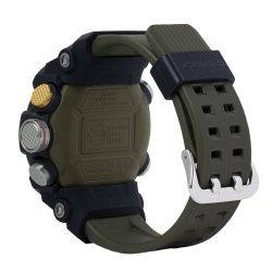 Men's Casio G-Shock Master of G Mudmaster Carbon Core Guard Quad Sensor Connected Olive Resin Watch GGB100-1A3