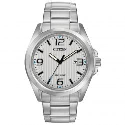 Men's Citizen Eco-Drive Chandler Stainless Steel Watch AW1430-86A