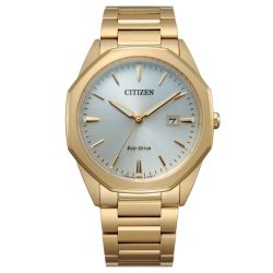 Men's Citizen Eco-Drive Corso Gold-Tone Watch BM7492-57A