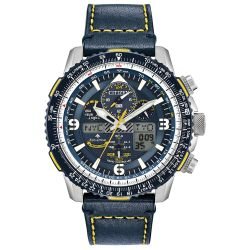 Men's Citizen Eco-Drive Promaster Blue Angels Skyhawk A-T Watch JY8078-01L