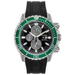 Men's Citizen Eco-Drive Promaster Chronograph Diver Watch CA0715-06E