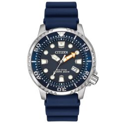 Men's Citizen Eco-Drive Promaster Diver Blue Watch BN0151-09L
