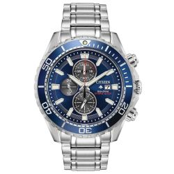 Men's Citizen Eco-Drive Promaster Professional Diver Stainless Steel Watch CA0710-58L