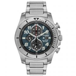 Men's Citizen Eco-Drive Promaster Tough Stainless Steel and Titanium Watch CA0720-54H