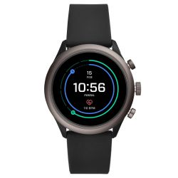 Men's Fossil Sport Smartwatch in Black Silicone FTW4019
