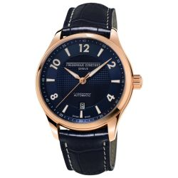 Men's Frederique Constant Runabout Automatic Navy Dial Watch FC-303RMN5B4