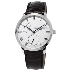 Men's Frederique Constant Slimline Automatic Black Leather Watch FC-723WR3S6