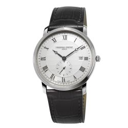 Men's Frederique Constant Slimline Stainless Steel Watch FC-245M5S6