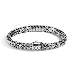 Men's John Hardy Classic Chain 6.5mm Bracelet in Sterling Silver