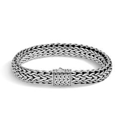 Men's John Hardy Classic Chain Sterling Silver Pusher Clasp Bracelet