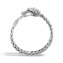 Men's John Hardy Legends Naga 9.5mm Bracelet in Sterling Silver