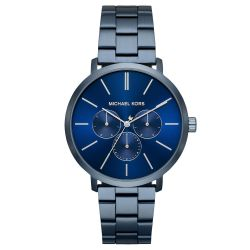 Men's Michael Kors Blake Navy Stainless Steel Watch MK8704