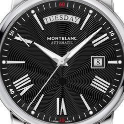 Men's Montblanc 4810 Day Date Stainless Steel Watch 115937