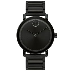Men's Movado BOLD Evolution Black Ion-Plated Stainless Steel Watch 3600538