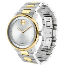 Men's Movado BOLD Two-Tone Stainless Steel Watch 3600431