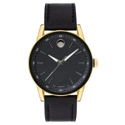 Men's Movado Museum Sport Yellow Gold-Tone Watch 0607223