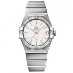 Men's OMEGA Constellation Chronometer Co-Axial Automatic Stainless Steel Watch O12310382102002