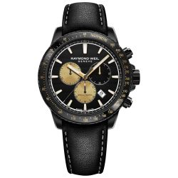 Men's Raymond Weil Tango 300 Marshall Limited Edition Chronograph Watch 8570-BKC-MARS1