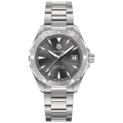 Men's TAG Heuer AQUARACER Automatic Anthracite Dial Watch