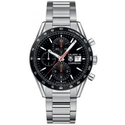 Men's TAG Heuer CARRERA Calibre 16 Automatic Chronograph Watch CV201AK.BA0727
