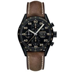 Men's TAG Heuer CARRERA Calibre 16 Automatic Chronograph Watch CV2A84.FC6394