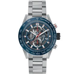 Men's TAG Heuer CARRERA Calibre Haeur 01 Automatic Chronograph Watch CAR201T.BA0766