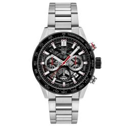 Men's TAG Heuer CARRERA Calibre Heuer 02 Automatic Chronograph Watch CBG2010.BA0662