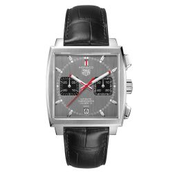 Men's TAG Heuer MONACO Limited Edition 50th Anniversary Calibre 12 Automatic Chronograph Watch CAW211J.FC6476