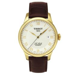 Men's Tissot Le Locle Automatic Leather Strap Watch T41541373
