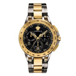 Men's Versace Sport Tech Chronograph Two-Tone Stainless Steel Watch VERB00418