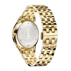 Men's Versace Univers Yellow Gold-Plated Stainless Steel Watch VEBK00518